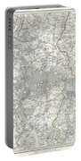 Map Of London And Environs Portable Battery Charger