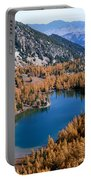 Martin Peak Above Cooney Lake Portable Battery Charger