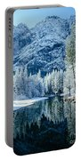 Merced River Reflection 2 Portable Battery Charger