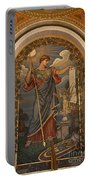 Minerva Of Peace Mosaic Portable Battery Charger