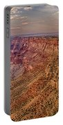 Navajo Viewpoint In Grand Canyon National Park Portable Battery Charger