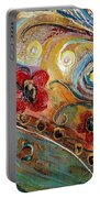 Original Painting Fragment 10 Portable Battery Charger