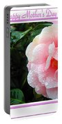 Pink Camellia - Happy Mother's Day Portable Battery Charger