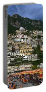Positano Crowded Beach Portable Battery Charger