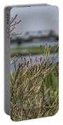 Purpletop Vervain Wildflowers Portable Battery Charger