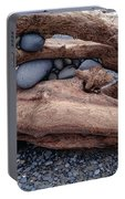 Rocks  In Driftwood Portable Battery Charger
