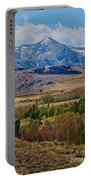 Sierras Mountains Portable Battery Charger