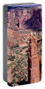 Spider Rock In Canyon De Chelly Portable Battery Charger