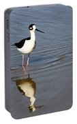 Stilt Looking At Me Portable Battery Charger