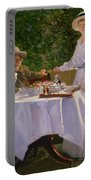 Summer Afternoon Tea Portable Battery Charger