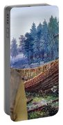 Swedish Lapphund Art Canvas Print  Portable Battery Charger