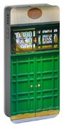 The Doors Of Madrid Spain Xii Portable Battery Charger