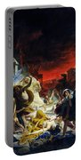 The Last Day Of Pompeii Portable Battery Charger