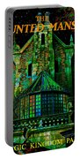 Haunted Mansion Poster Work A Portable Battery Charger