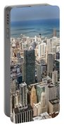 0001 Chicago Skyline Portable Battery Charger
