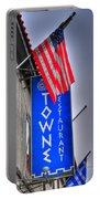 001 Towne Restaurant  Portable Battery Charger