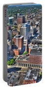 0017 Visual Highs Of The Queen City Portable Battery Charger