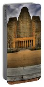 0019 City Hall From Within The Square Portable Battery Charger