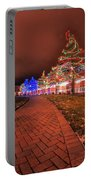 002 Christmas Light Show At Roswell Series Portable Battery Charger
