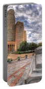 003 Sleeping Lions City Hall View  Portable Battery Charger