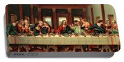 0030s The Last Supper After Leonardo Da Portable Battery Charger