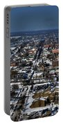0043 After The Nov 2014 Storm Buffalo Ny Portable Battery Charger