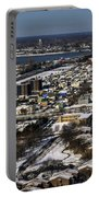 0044 After The Nov 2014 Storm Buffalo Ny Portable Battery Charger
