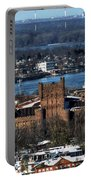 0048 After The Nov 2014 Storm Buffalo Ny Portable Battery Charger
