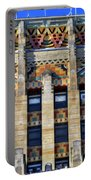 0049 Art Deco City Hall Portable Battery Charger