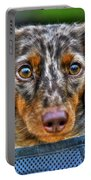 0054 Puppy Dog Eyes Portable Battery Charger