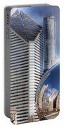 0077 Millennium Park Chicago Portable Battery Charger