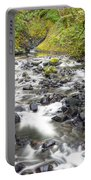0106 Columbia River Gorge Near Bridal Veil Falls Portable Battery Charger