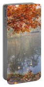 0132 Autumn At Starved Rock Portable Battery Charger