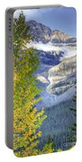 0141 Fall Colors On Icefield Parkway Portable Battery Charger