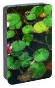 0148-lily -   Oil Stain Sl Portable Battery Charger