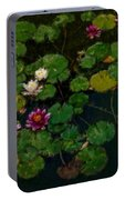 0151-lily -   Expressionist Plein Air Sl Portable Battery Charger