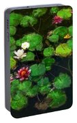 0151-lily -   Oil Stain Sl Portable Battery Charger