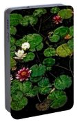 0151-lily -  Watercolor 1 Sl Portable Battery Charger
