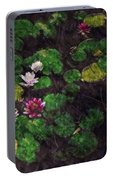 0151-lily -  Watercolor 2 Sl Portable Battery Charger