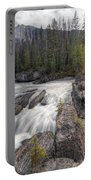 0182 Natural Bridge Waterfall Portable Battery Charger