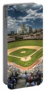 0234 Wrigley Field Portable Battery Charger by Steve Sturgill