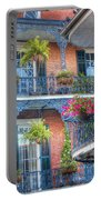 0255 Balconies - New Orleans Portable Battery Charger