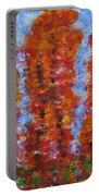 026 Red Trees Portable Battery Charger