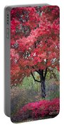 0277 Blazing Red Portable Battery Charger
