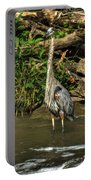 04 Waiting Heron Portable Battery Charger