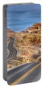 0445 Valley Of Fire Nevada Portable Battery Charger