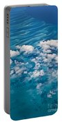 0459 Above The Caribbean Portable Battery Charger