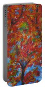 052 Abstract Thought Portable Battery Charger