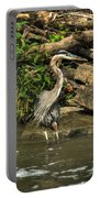 06 Waiting Heron Portable Battery Charger