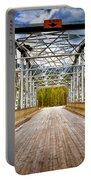 0649 Bow River Bridge Portable Battery Charger
